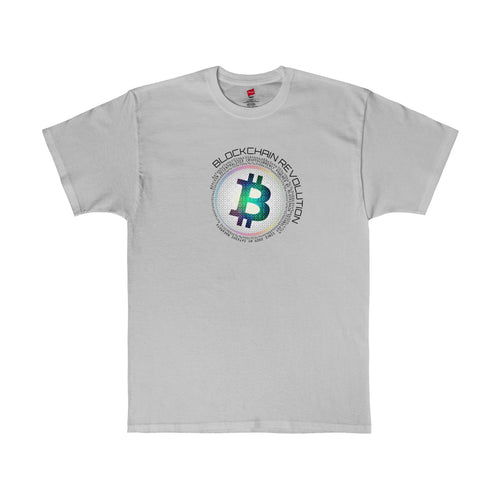 Blockchain Revolution Tee Light Steel