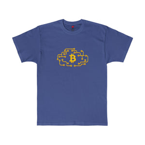 Btc Tee Cloud Circuit Deep Royal