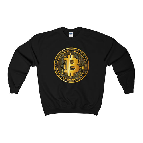 Bitcoin Digital Gold Sign Sweatshirt Black