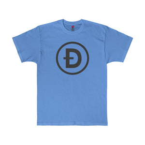 Doge Tee Minimal Carolina Blue