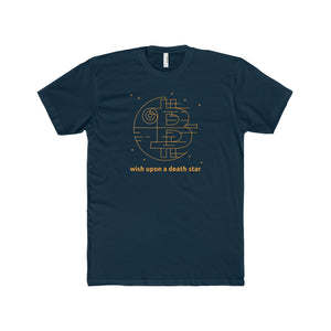 Btc Death Star Tee Solid Midnight Navy