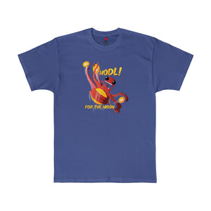 Cryptopod Hodl For The Moon Tee Deep Royal