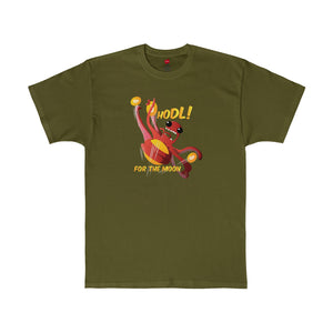 Cryptopod Hodl For The Moon Tee Fatigue Green