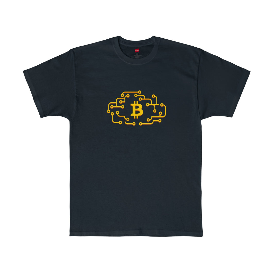 Btc Tee Cloud Circuit Black