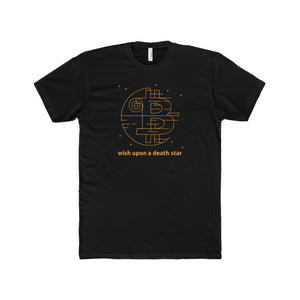 Btc Death Star Tee Solid Black