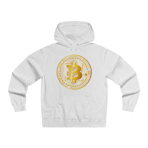 Bitcoin Digital Gold Sign Premium Hoodie White