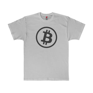 Btc Tee Minimal Light Steel