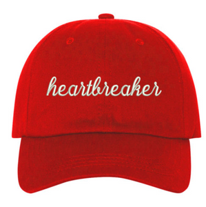 c9994985b02 HeartBreaker - Embroidered Valentines Heartbreaker Couples Matching Dad Hat