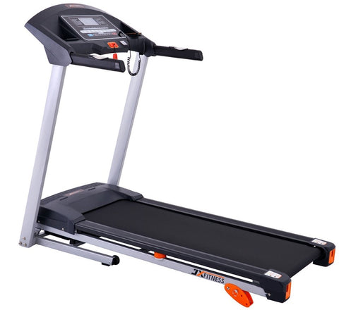 Treadmill Exercise Machine with Music, Massager & 100kg User