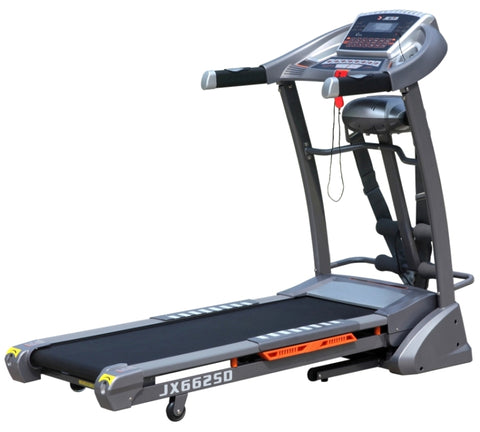 2.5HP Treadmill with Massager, Music & Incline