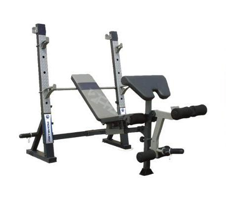 Commercial Bench Press with 50kg Barbell
