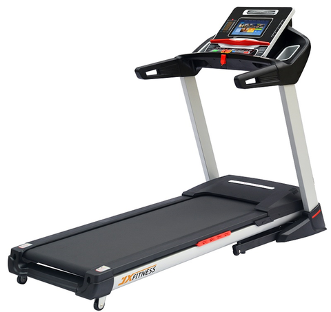 4HP Semi-Commercial Treadmill with Touchscreen, TV, WiFi, Music