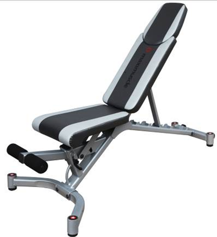 Semi-Commercial Adjustable Exercise Bench
