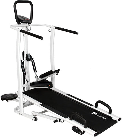 Manual Treadmill with Stepper