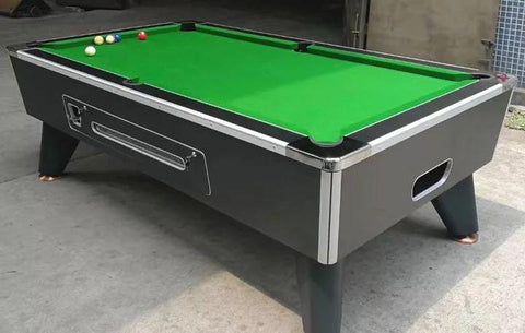 Deluxe Marble Slate Coin Pool Table