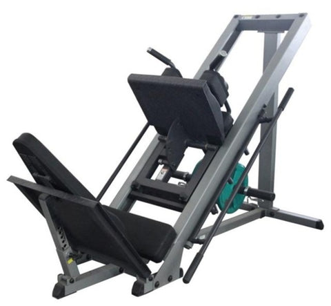 Leg Press Machine (and Hack Squat Combo)