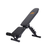 Adjustable Exercise Bench with Resistance Rope