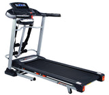 Treadmill Exercise Machine with Massager, Music, Incline & 120kg User