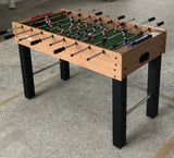 Brown Soccer Table (Foosball)