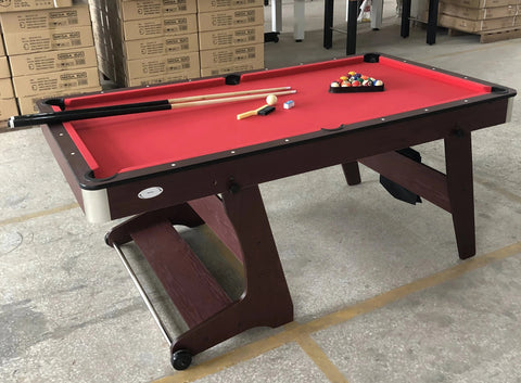 Snooker Pool Table (6 Foot) (Foldable)