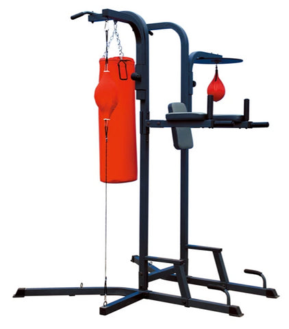 Power Tower with Punching Bag & Speed Bag