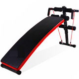 Tummy Trimmer Sit up Bench w/ Dumbbell