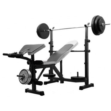Bench Press with 50kg Barbell