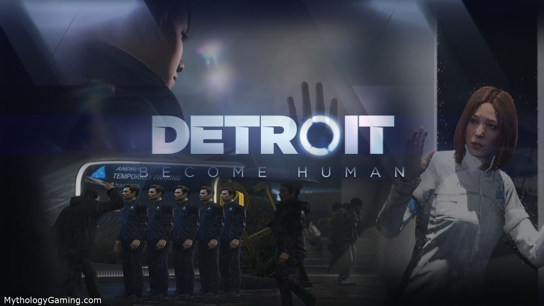 PS4-Exclusive Detroit: Become Human Release Date Announced