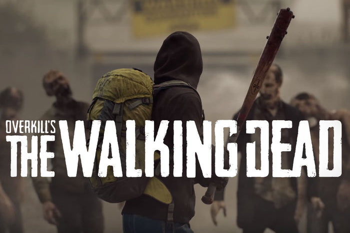 Overkill's The Walking Dead, four player co-op shooter!