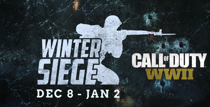 Call Of Duty WW2's Winter Siege Event Trailer and more!