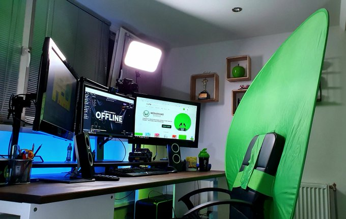 How to set up a Webaround Green Screen