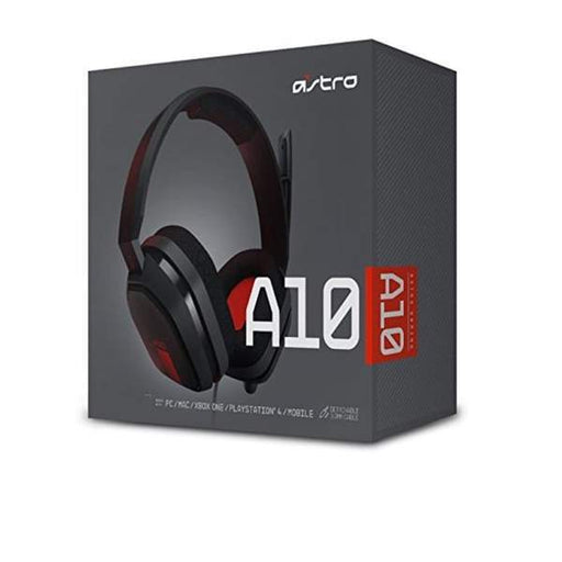 Astro Gaming Astro A10 Headset Red PC Wired Headset