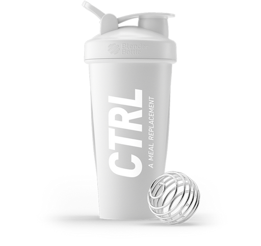 CTRL CTRL Shaker Bottle (White) Gamers energy