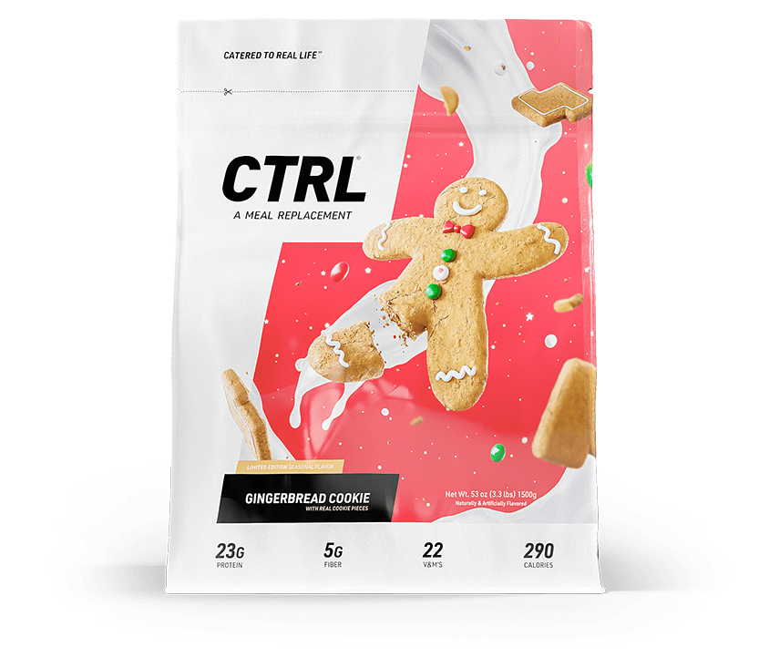 CTRL CTRL Gingerbread Cookie Flavour - PRE ORDER STOCK DUE 25th Jan Meal Replacement