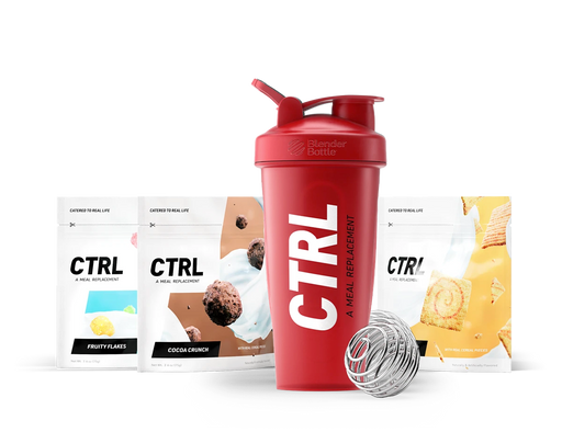 CTRL CTRL MEAL REPLACEMENT SAMPLE KIT - FaZe Red Shaker + 3 Servings Meal Replacement