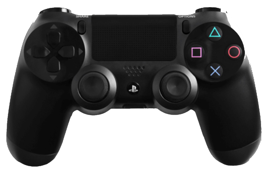 Evil Controllers Evil Controller SHIFT Console controller PS4 / Black Soft Touch / SHIFT + MASTER MOD + FORNITE MOD
