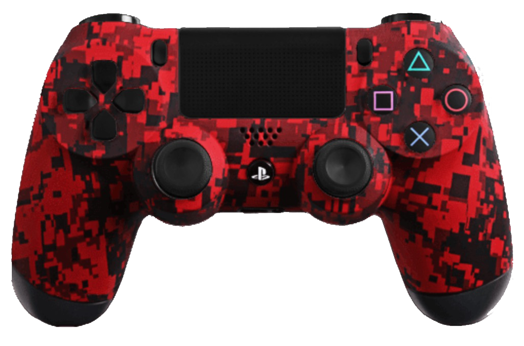 Evil Controllers Evil Controller SHIFT Console controller PS4 / Red Urban / SHIFT + MASTER MOD + FORNITE MOD