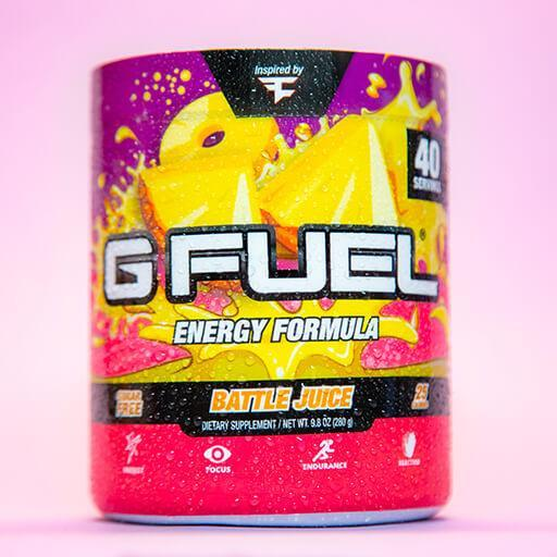 GFuel G Fuel Battle Juice Tub Gamers energy
