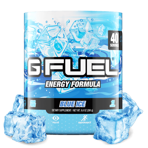 GFuel G Fuel Blue Ice Tub Bundle Gamers energy
