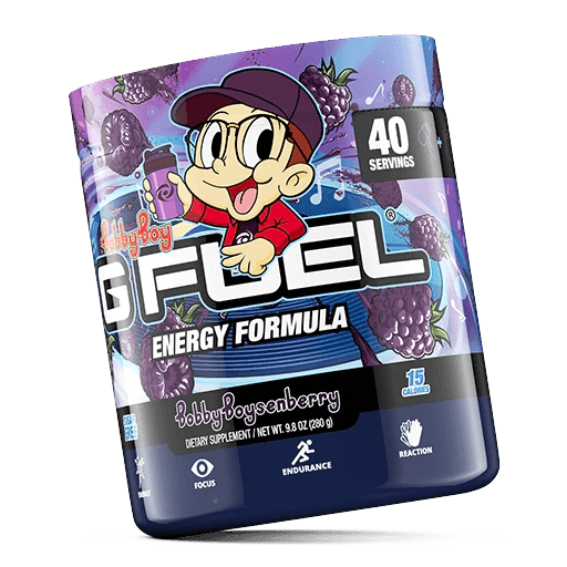 GFuel G Fuel Bobby Boysenberry Tub - Inspired By Logic Gamers energy