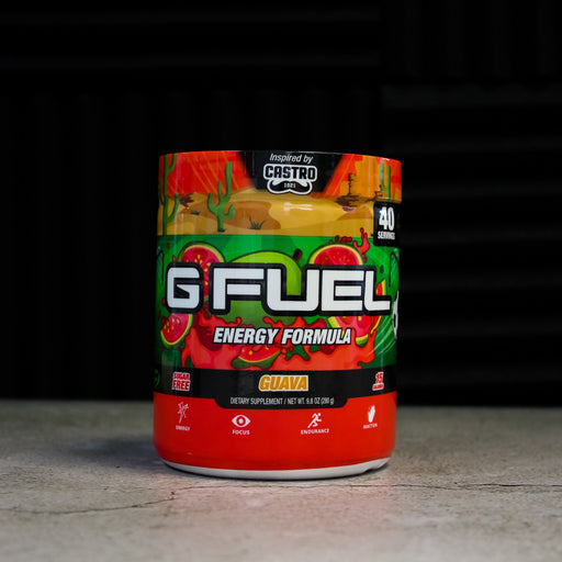 GFuel G Fuel Castro Guava Tub Gamers energy
