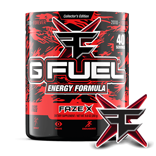 GFuel G Fuel Faze X Tub Gamers energy