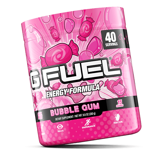 GFuel Gfuel Bubblegum Tub Gamers energy