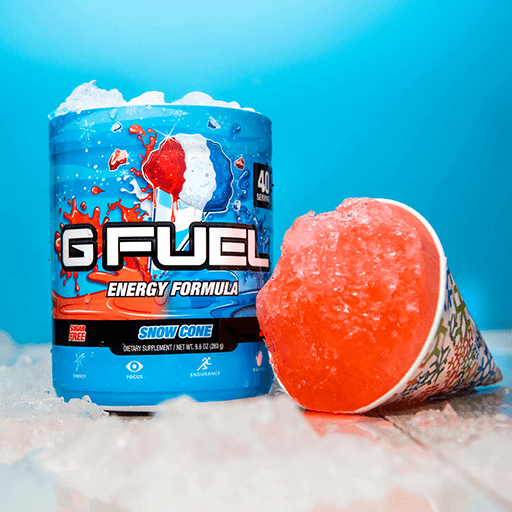 GFuel GFuel Snow Cone Tub Gamers energy