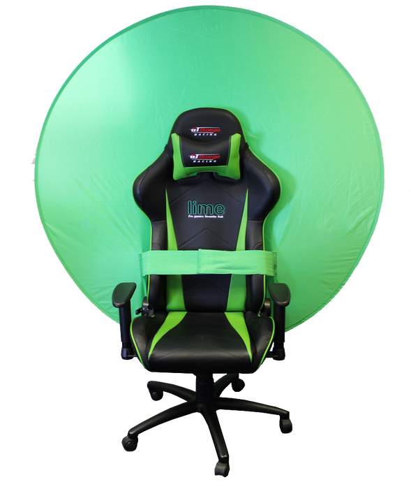 "Webaround Webaround Green Screen/Privacy screen - (Perfect for Streamers!) The Big Shot - 56"" Green"