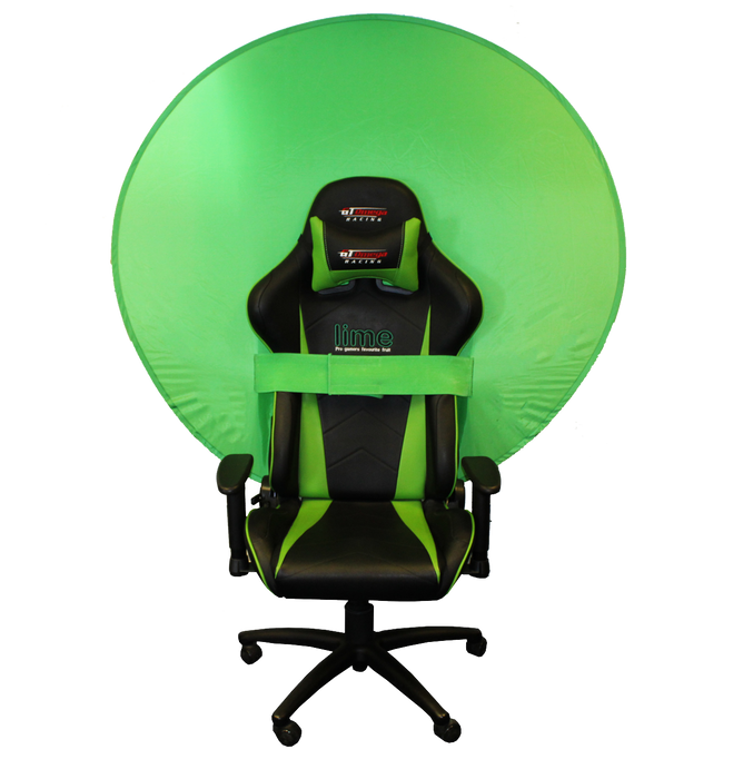 "Webaround Webaround Green Screen/Privacy screen - (Perfect for Streamers!) The Fan Favourite - 52"" Green"