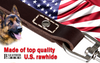 "Image of Leatherberg® 12"" Short Leather Leash"