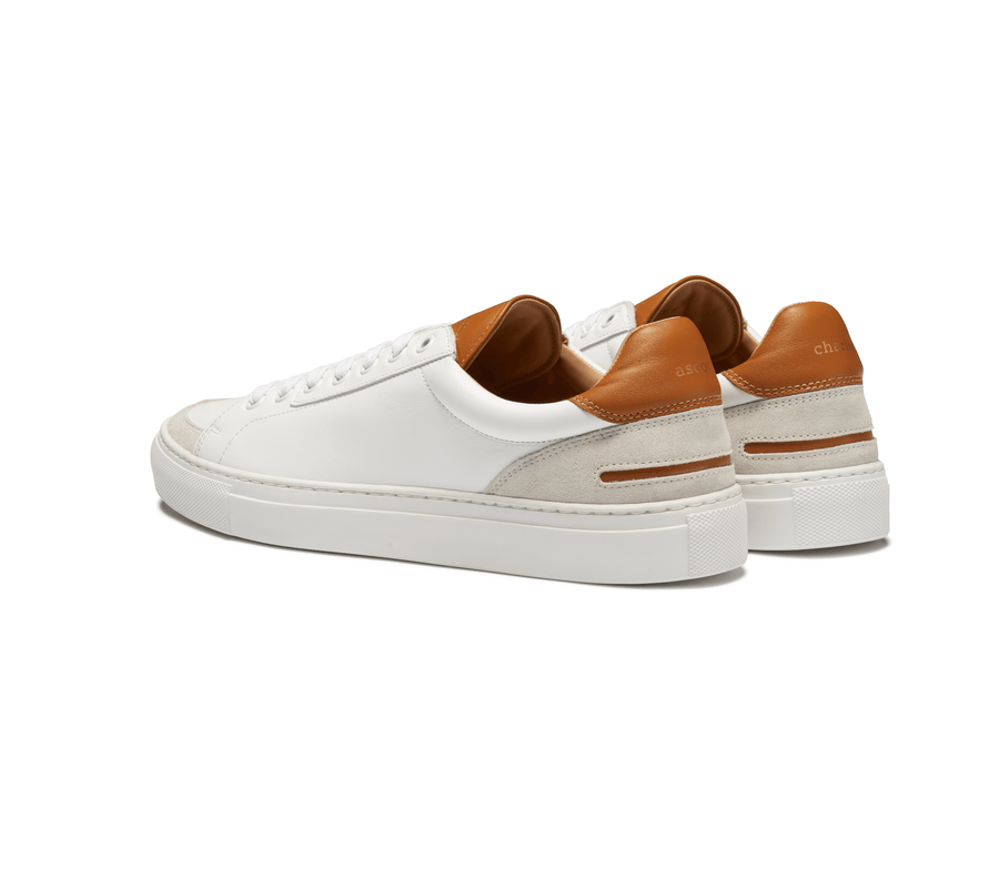 Low Top Sneakers - Saddle Tan - Ascot & Charlie