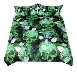Scaly Skull Duvet Cover