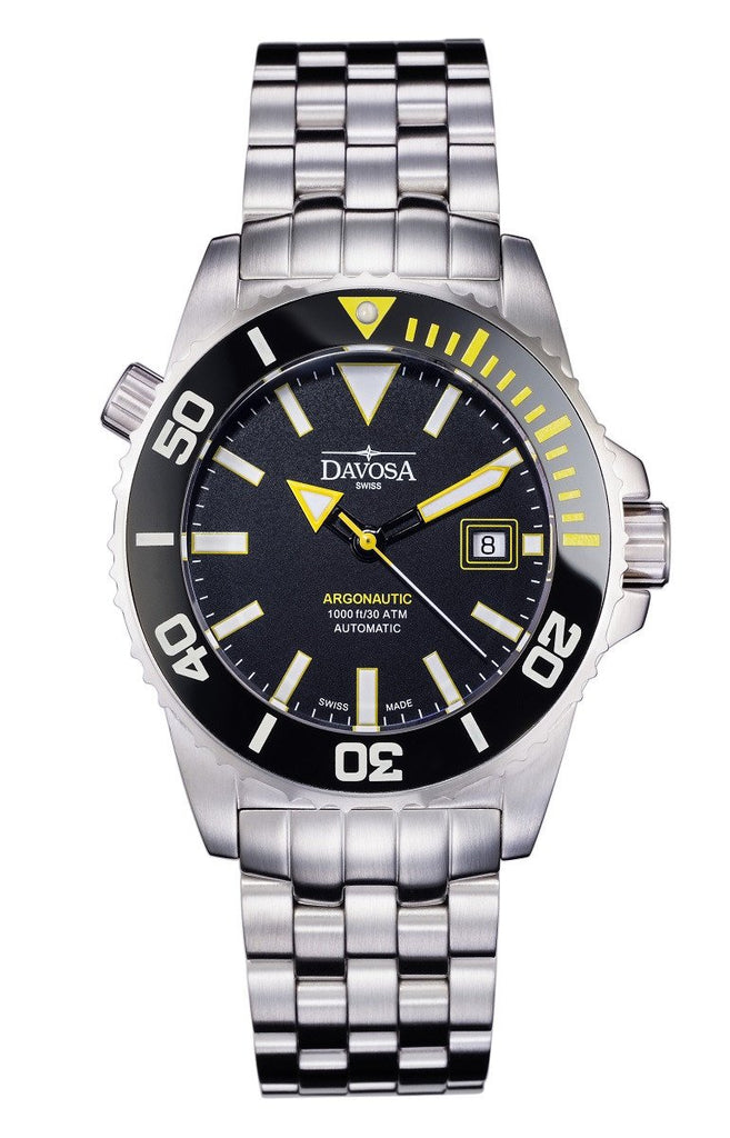 "Argonautic 300m Diver Black/Yellow 42mm Automatic 16149870 ""Bumble Bee"""